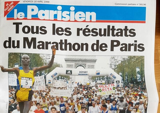Paris Marathon 1999