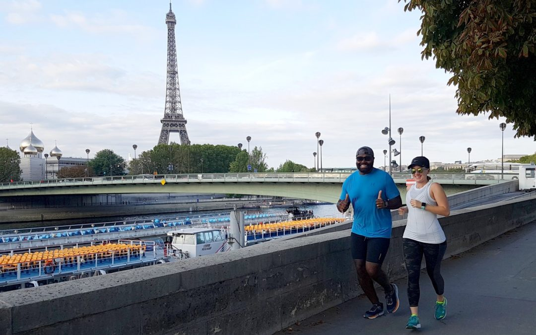Where do the Paris Running Tours go?