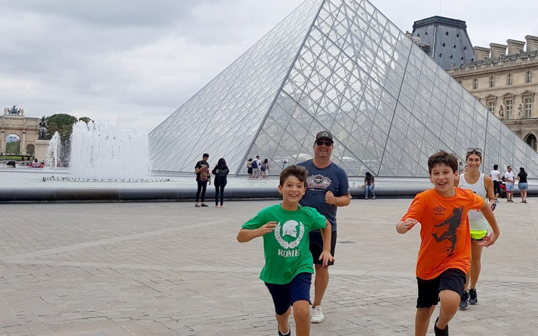 A family Paris Running Tour