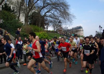 Strides of the Tertre in Montmartre 2020