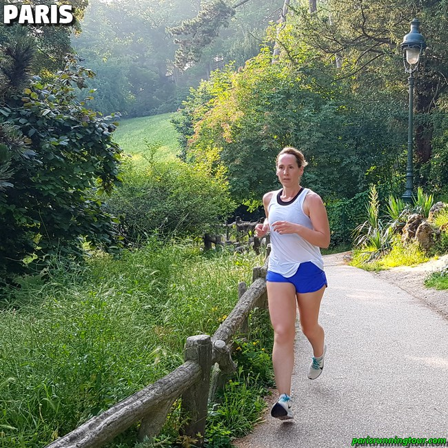Running on mountain paths in Paris?