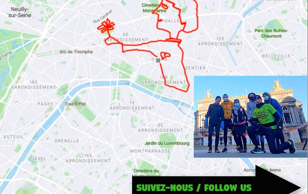 Valentine runs in Paris!